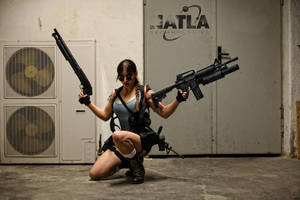Lara Croft - Overkill 01 by ImeldaCroft