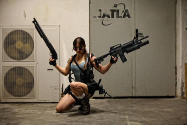 Lara Croft - Overkill 01 by ImeldaCroft
