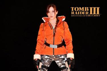 Lara Croft - TR III - Antarctica 01 by ImeldaCroft