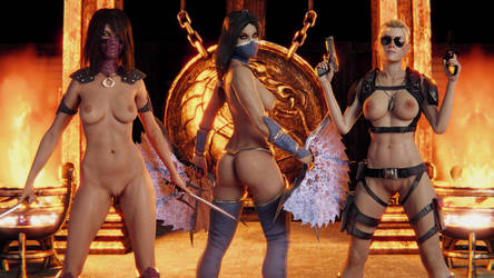 MKX Girls by Pervik