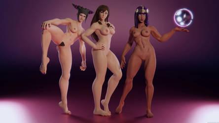Street Fighter Girls by Pervik