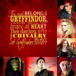 Doctor Who Gryffindor by PinkiePieTheWhovian