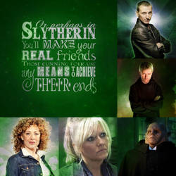 Doctor Who Slytherin by PinkiePieTheWhovian
