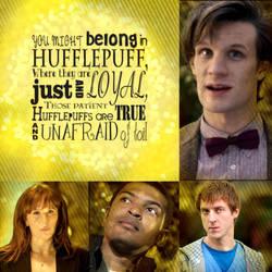Doctor Who Hufflepuff by PinkiePieTheWhovian