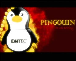 Usb Linux Emtec Wallpaper by xtincell