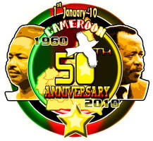 Logo Independance Cameroun by xtincell
