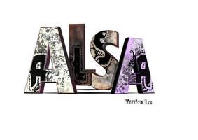 Logo 3D Collectif ALSA by xtincell