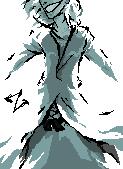 Pixel Art - Zangetsu by xtincell