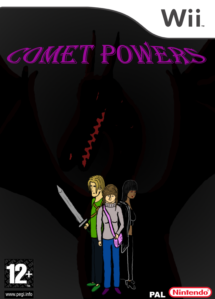 Comet Powers WII game by whase