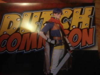 foto fotobooth Ike Dutch Comic con by whase