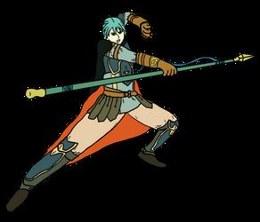 Ephraim, lancer lord by whase