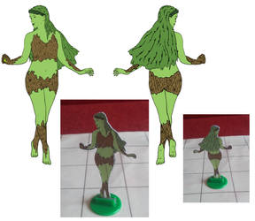 Dryad figure by whase