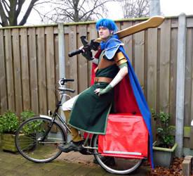 Ike on a bike by whase