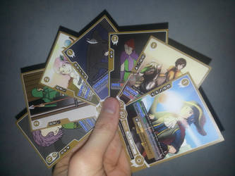 Custom Fire Emblem Cipher cards by whase