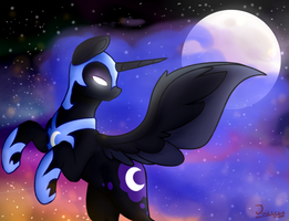 Nightmare Moon by Jazzerix