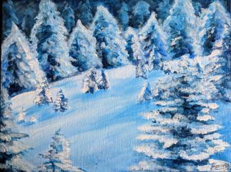 Snow by Jazzerix
