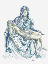 Pieta by m4rc3lo0o