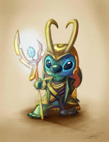 Mothers Day - Loki Stitch by Pimander1446