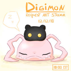 FREE Art Stream Comming (DIGIMON) by Pimander1446