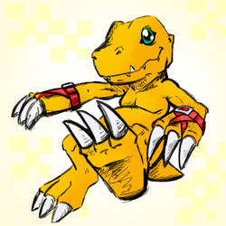 Agumon by Pimander1446