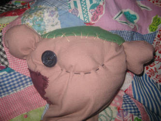 My Stuffed Hambo Plush Doll for Miss Marceline by CatsFeltLings