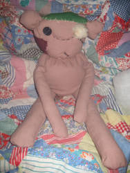 My Stuffed Hambo Plush Doll -- Almost Done by CatsFeltLings