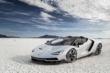Lamborghini Centenario Roadster by cyanide227
