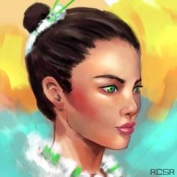 Lady by RCSR-art