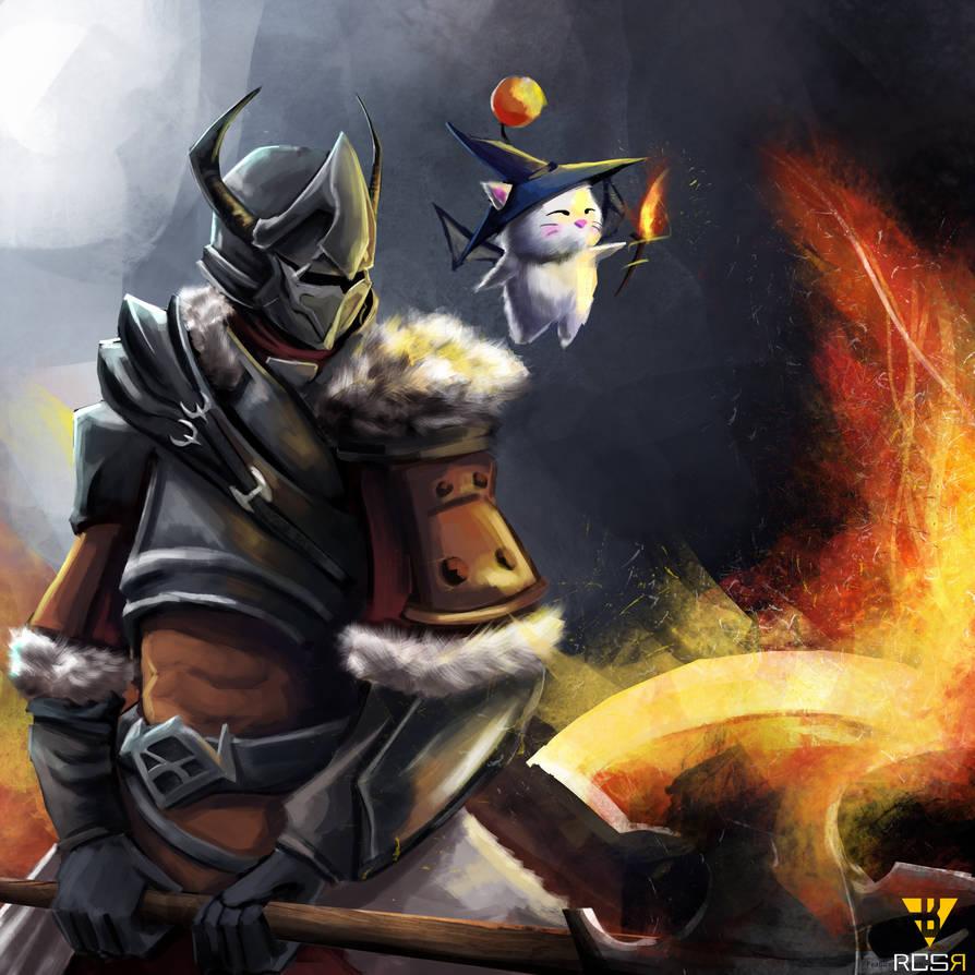 Warrior by RCSR-art
