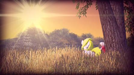 Sunset. by nikoiro