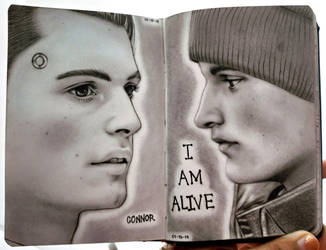 Connor from Detroit: Become Human by HarkinDeximire