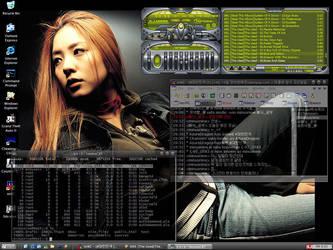 my desktop by minusnine