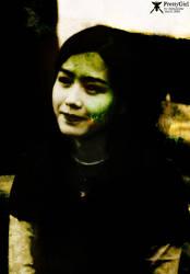 pretty girl by minusnine
