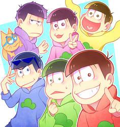 6 SAME FACES by miimiiakatsuki