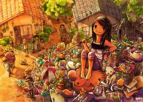 Mountain of Our Belongings by Raindropmemory