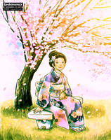 Airy Sakura by Raindropmemory