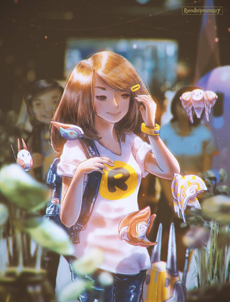 Sunshine Lady by Raindropmemory