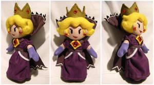 Shadow Queen Peach by S2Plushies
