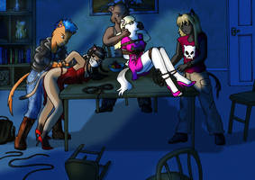 Burglars pt 1 by DamselComics