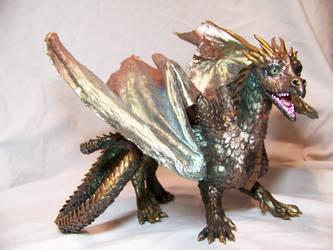 ooak dragon again by AmandaKathryn