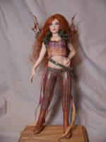 'Phoenix' Steampunk Fairy by AmandaKathryn