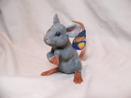 'moss'  ooak fairy mouse by AmandaKathryn