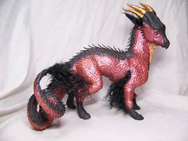 'Scarlet' ooak dragon 3 by AmandaKathryn