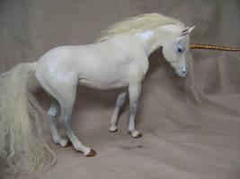 'Resplendent' ooak unicorn by AmandaKathryn