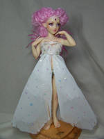 'Seraphina' ooak pink fairy by AmandaKathryn