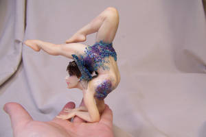Sapphyre: contortionist fairy by AmandaKathryn
