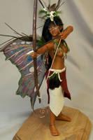 'Ixchel' ooak fairy by AmandaKathryn