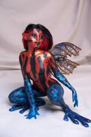 'Amazonica' dart frog fairy by AmandaKathryn