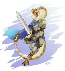 Sethrak warrior by DragonAsis