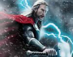 God of Thunder by B2DaRice